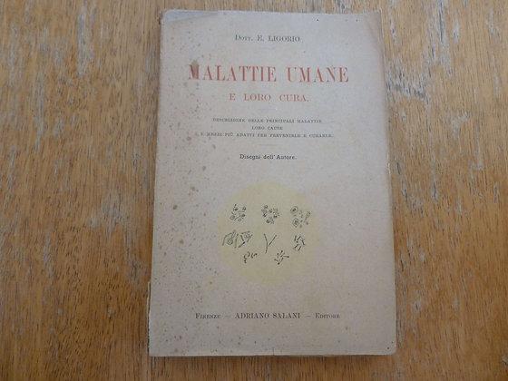 E. Ligorio - Malattie umane - 1913