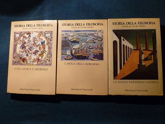 N. Merker - Storia della Filosofia - Vol. 1, 2, 3 -1982