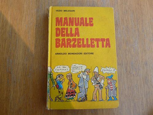V. Melegari - Manuale della barzelletta - 1976
