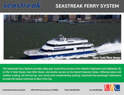 Seastreak Ferry - Media Kit