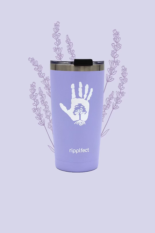 Frosted Lilac Tumbler