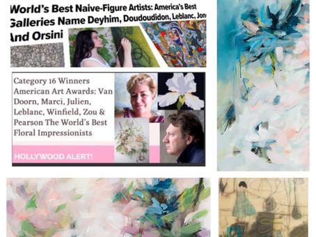 Winner American Arts Awards 2016