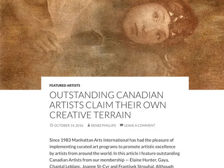 Featured alongside wonderful artists