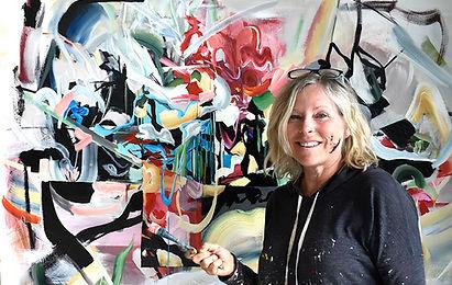 Chantal Leblanc abstract art