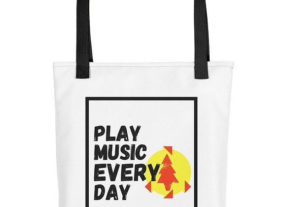 Play Music Every Day Tote bag