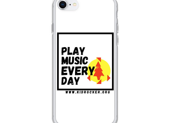 Play Music Every Day iPhone Case