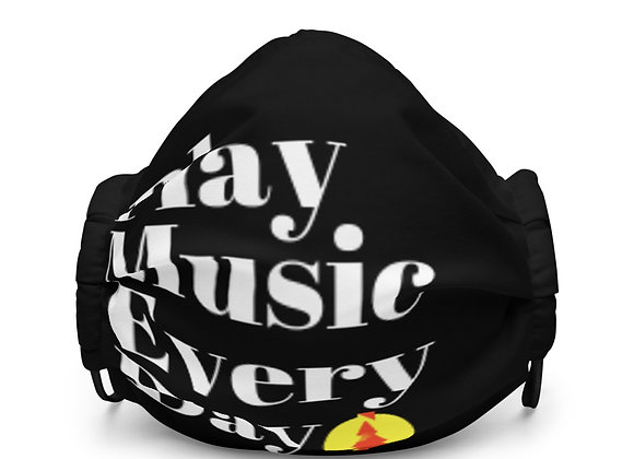 Play Music Every Day Mask (Black)