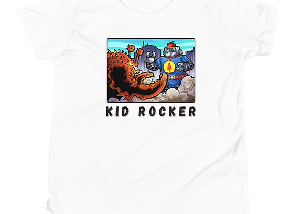 Kid Rocker Otto the Robot Youth Short Sleeve T-Shirt