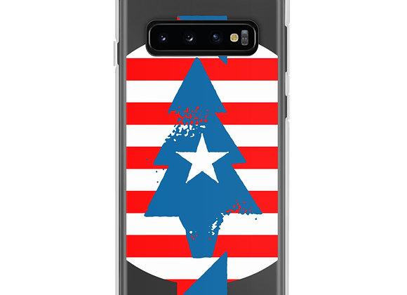 Patriotic Peace Tree Samsung Case