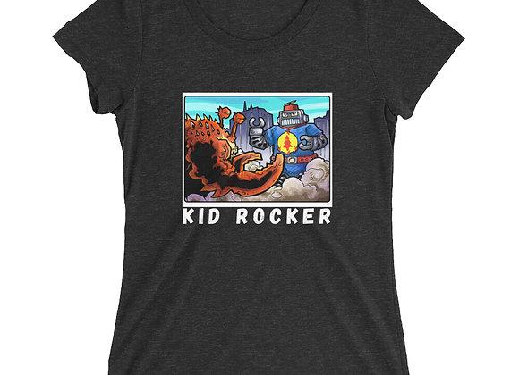 Kid Rocker Otto the Robot Ladies' short sleeve t-shirt