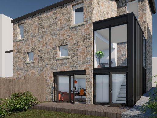 Planning permission granted for 2-storey Glasgow extension