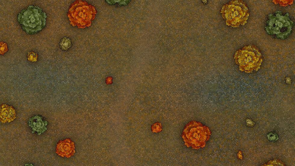 Fall Field Battlemap