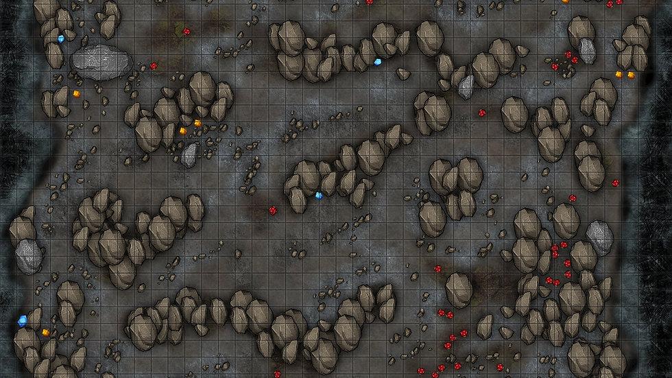 Cave of Riches Battlemap
