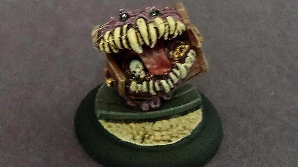 Mimic Treasure Chest (Miniature Painting)