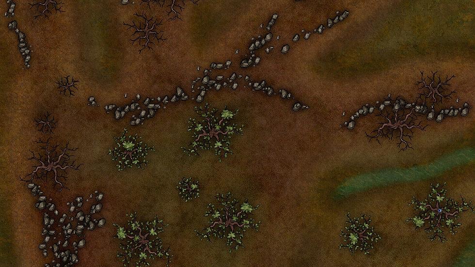 Green Thumb Swamp Battlemap