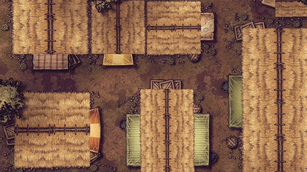 Village Battlemap
