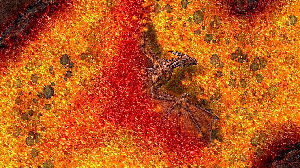 Dragon Fire Battlemap