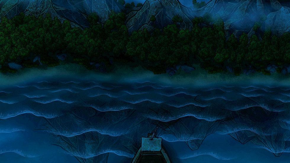 Boating Battlemap Scene Map