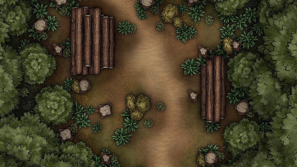 Chopping Wood Battlemap