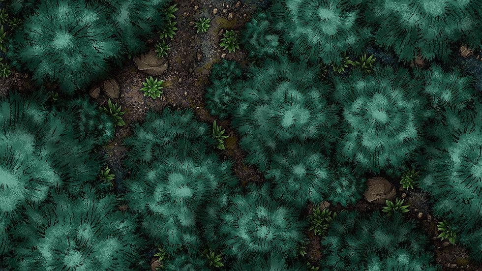 Pine Forest Battlemap