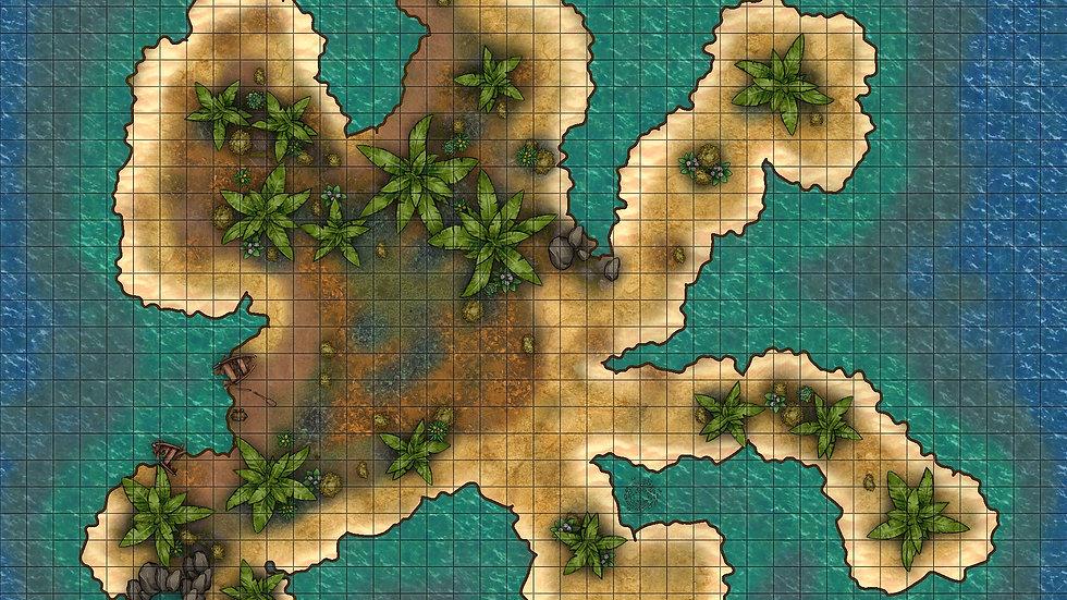 Roadkill Island Battlemap