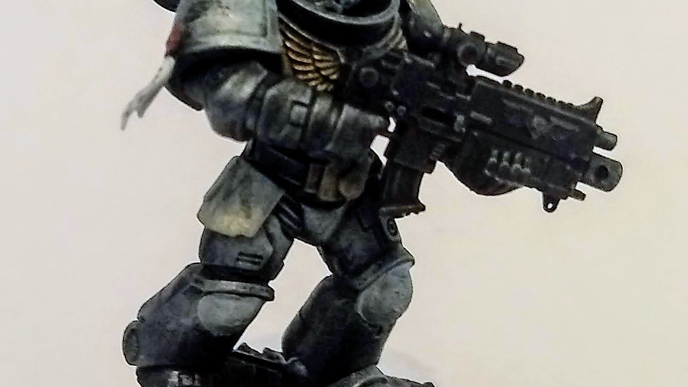 Madth Productions Space Marine (Miniature Painting)