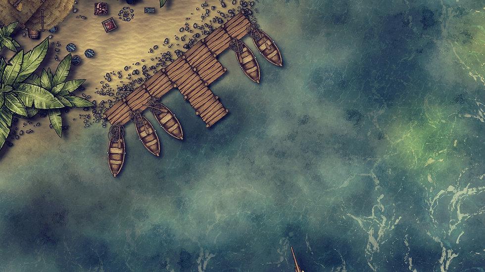 Fishing Station Battlemap