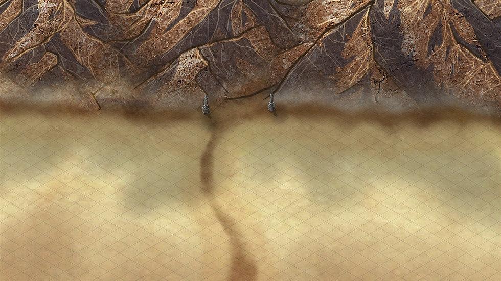 Enter the Sandland Battlemap