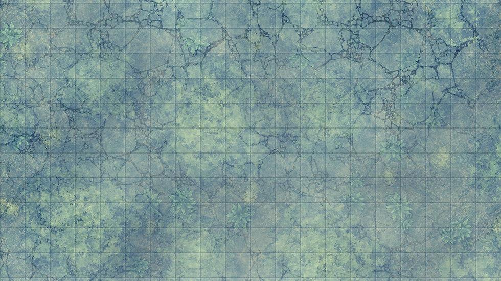 Frozen Forest Battlemap