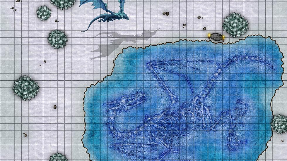 The Last Ice Dragon 2 Battlemap