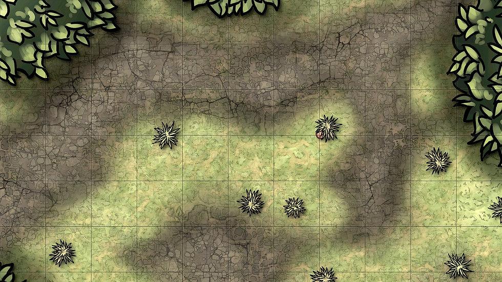 Overgrown Battlemap