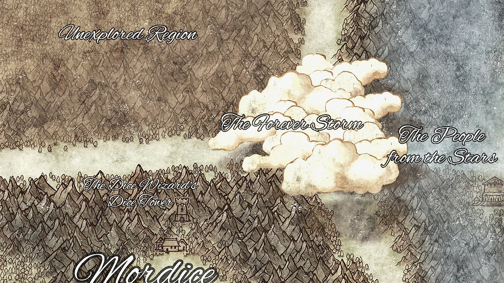The Realm of Mordice Battlemap