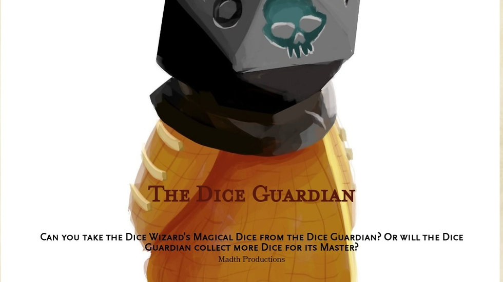 The Dice Guardian, One Page TTRPG