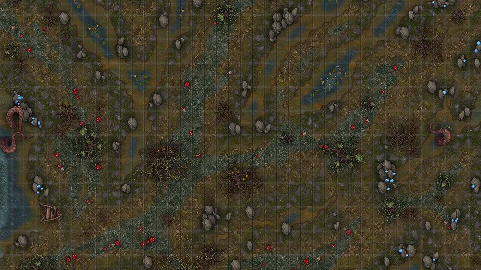The Swamp Battlemap