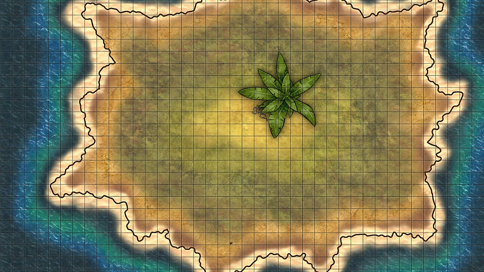 The Lonely Island Battlemap