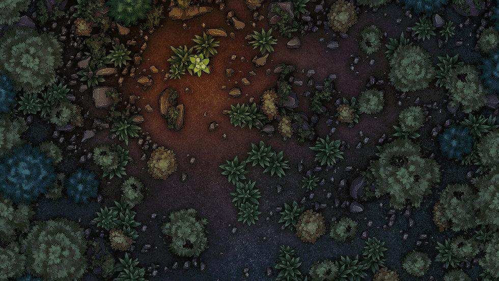 Forest Ruins Battlemap