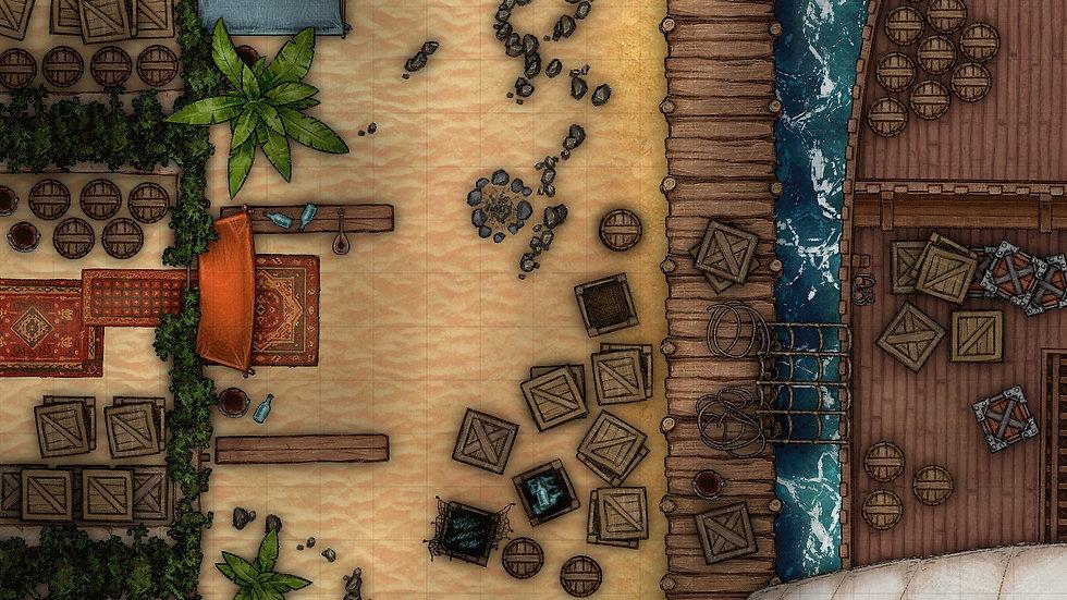 Port of Call Battlemap