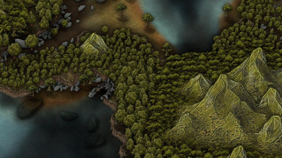 Emerald Hills Battlemap