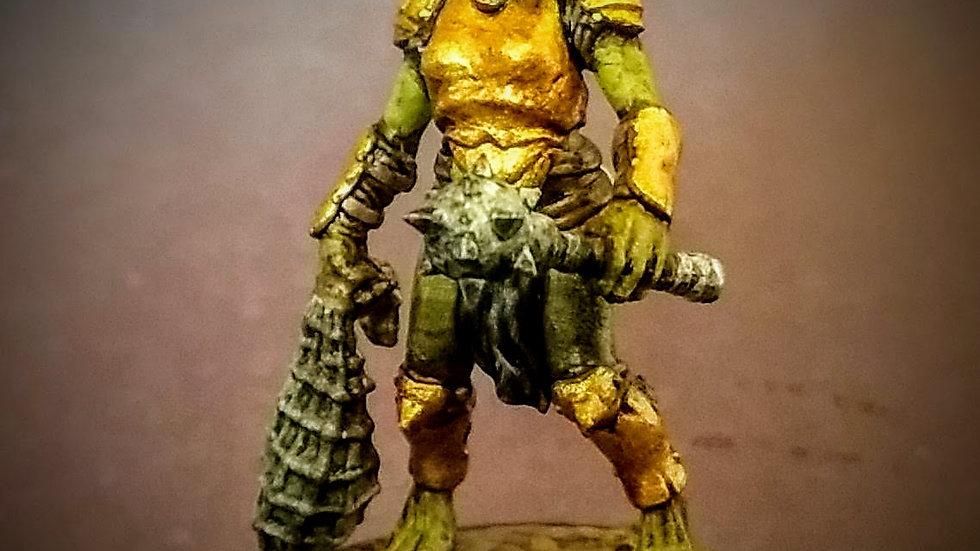 Gnoll Warrior (Miniature Painting)