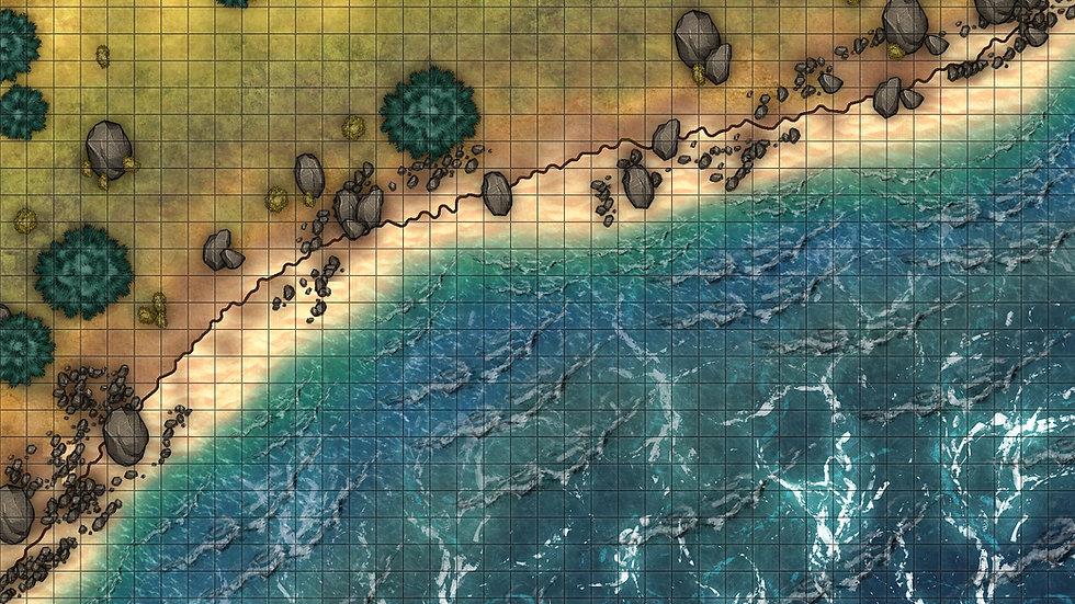 Pebble Beach Battlemap