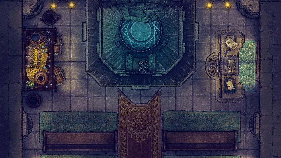 Sanctuary Battlemap