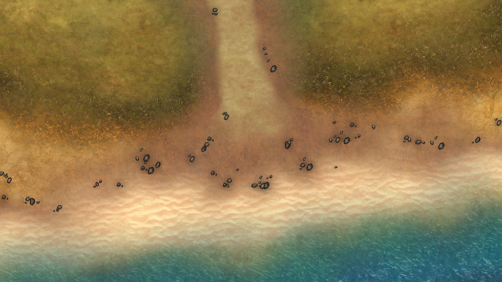 Beach Face 2 Battlemap