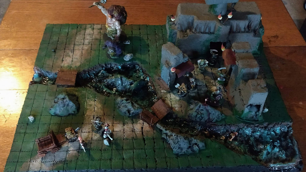 Headstone Point (Playset)