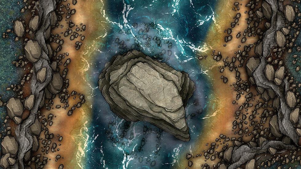 Big Rock Battlemap