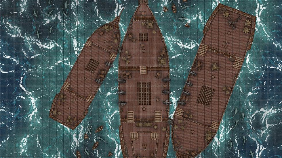 Sea Battle Battlemap