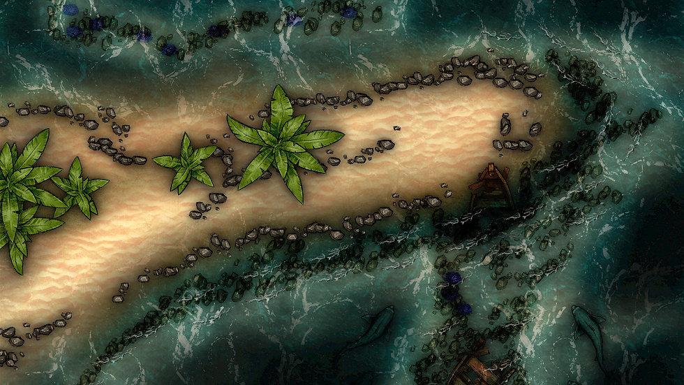 Shipwreck Battlemap