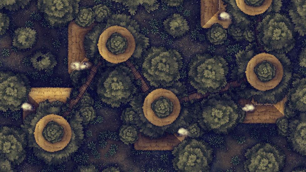 Tree City Battlemap