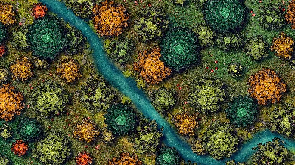 River Battlemap