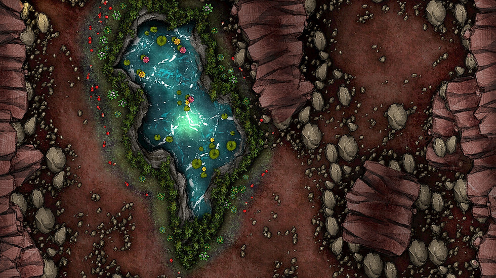 Fountain of Youth Battlemap