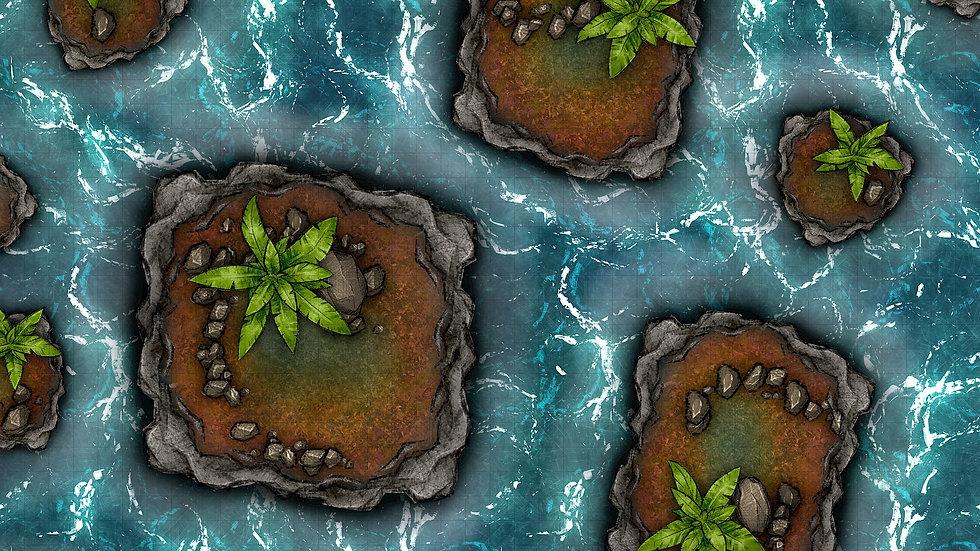 Mini Paradises Battlemap